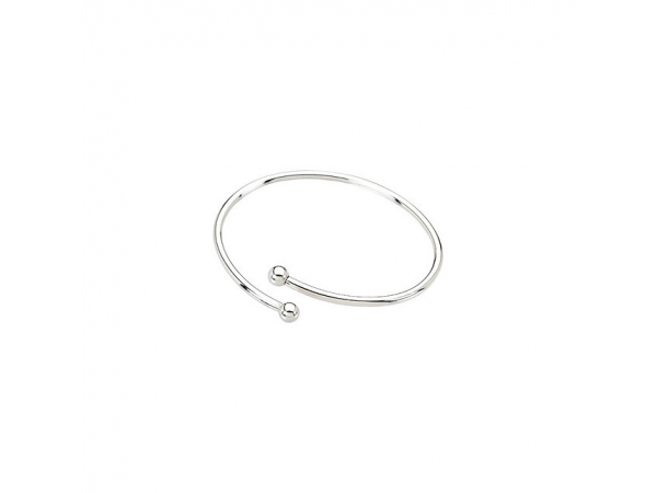 Kera® Sterling Silver Bangle Bracelet  by Stuller