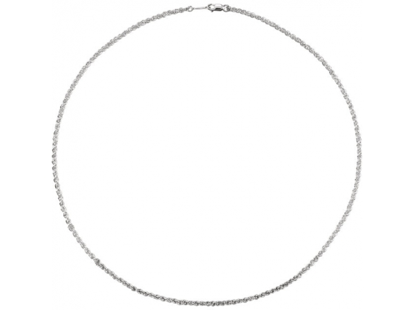 Necklaces - Sterling Silver Chain Necklace - image #2