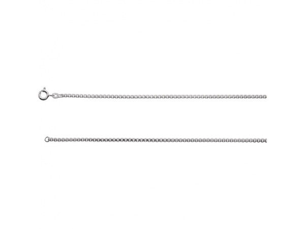 2mm Sterling Silver Box Chain - Sterling Silver 2mm Box 16