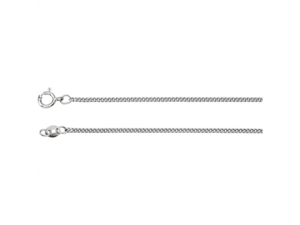 Sterling Silver Chain Necklace by Stuller