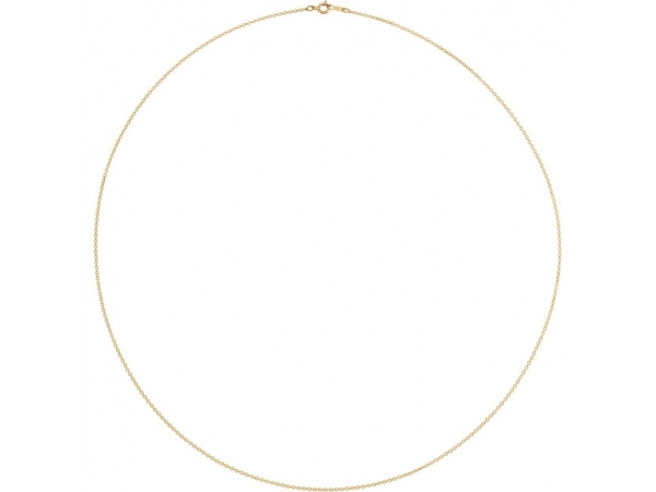 Necklaces - 10K Yellow Gold Chain Necklace - image #2