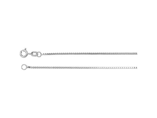 Sterling Silver Chain Necklace - Sterling Silver Chain Necklace