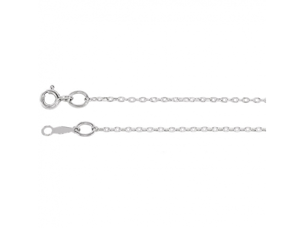 1mm Cable Chain - Sterling Silver 1mm Cable 16