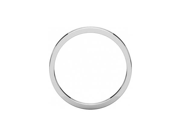 Wedding Bands - 1.5mm Wedding Band - image #2