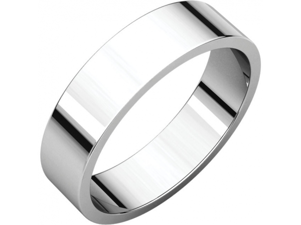Precious Metal Wedding Bands - 5mm Wedding Band