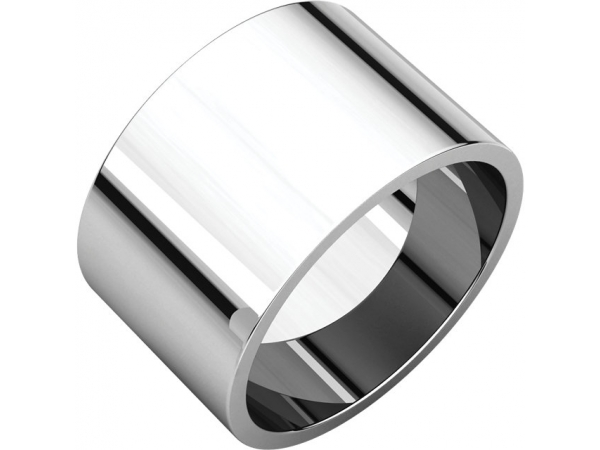 Wedding Rings - 12mm Wedding Band