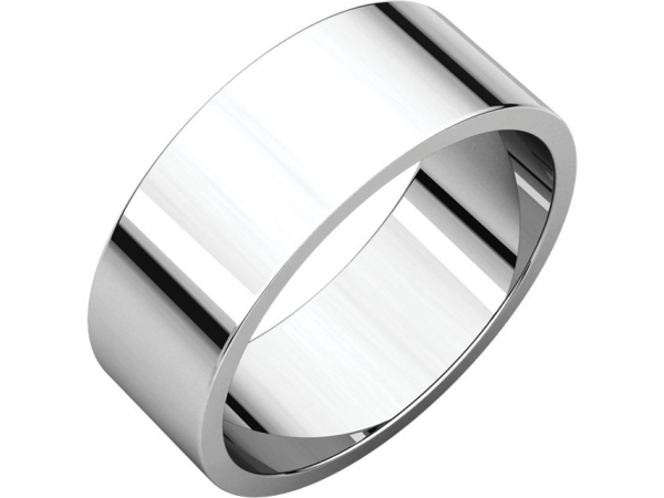Wedding Bands - Flat Bands