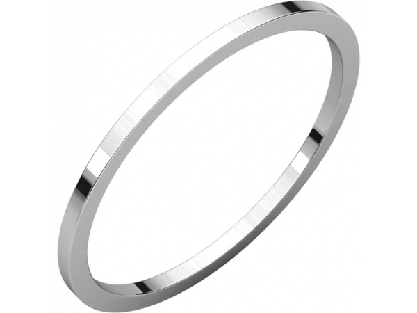 Mens Wedding Bands - 1mm Wedding Band
