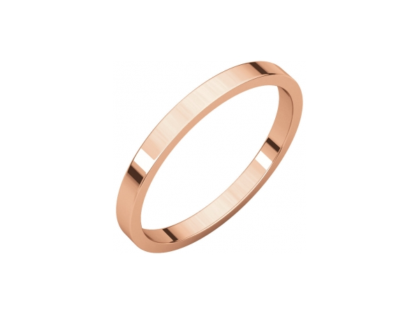 Precious Metal Wedding Bands - 1.5mm Wedding Band