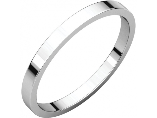 Engagement Rings - Flat Bands