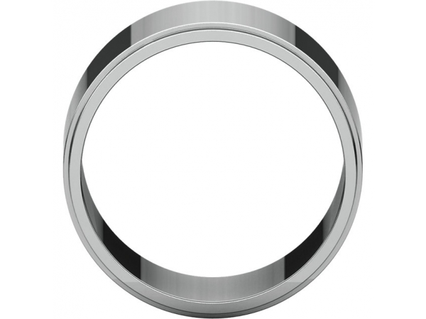 Wedding Bands - Flat Edge Bands - image #2
