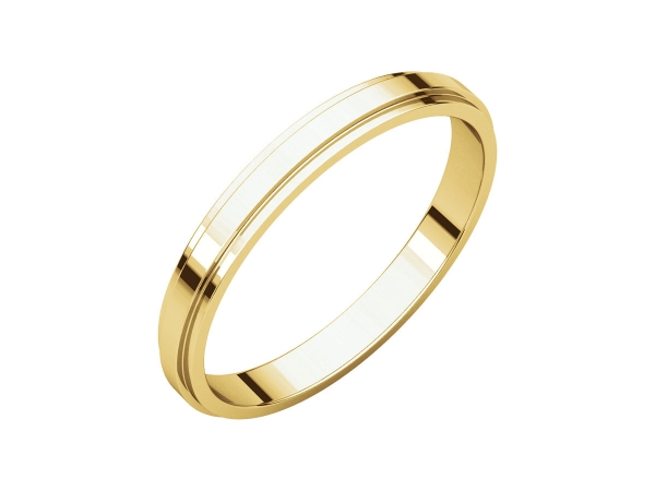 Wedding & Anniversary Bands - 2.5mm Wedding Band