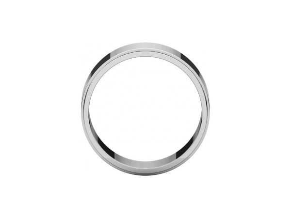 Mens Wedding Bands - 8mm Wedding Band - image #2