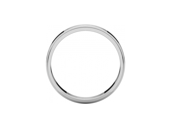 Wedding Bands - 4mm Wedding Band - image 2