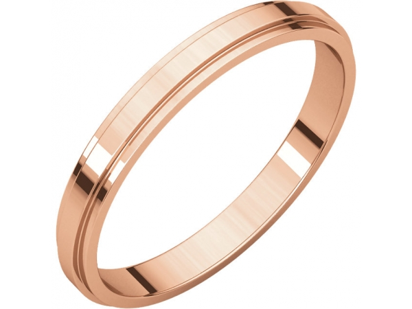 Wedding Rings - 2.5mm Wedding Band