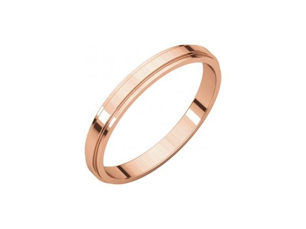 Wedding Rings - 3mm Wedding Band