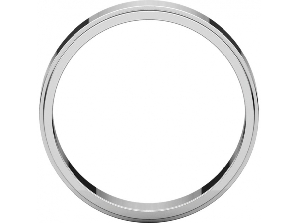 Mens Wedding Bands - 5mm Wedding Band - image #2