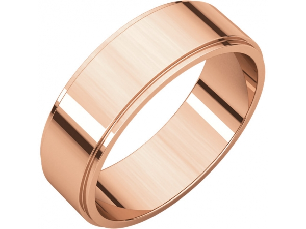 Rings - Flat Edge Bands