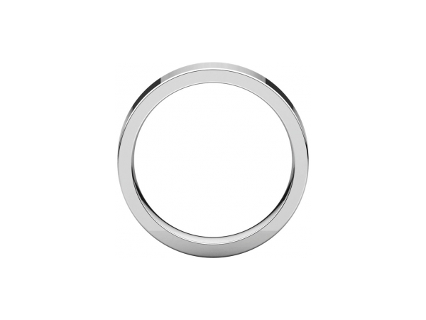 Ladies Wedding Bands - 5mm Wedding Band - image #2