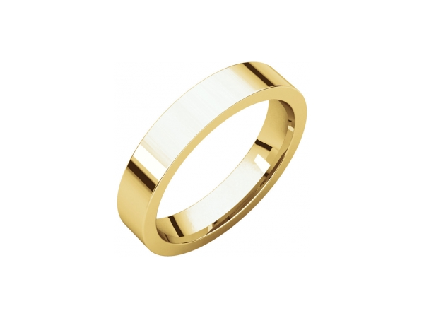 Mens Wedding Bands - 4mm Wedding Band