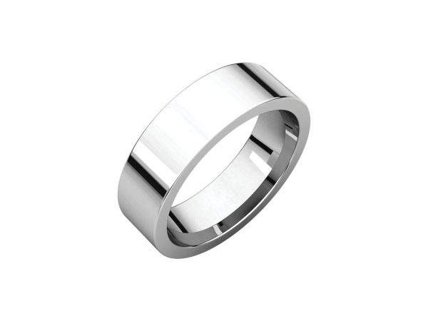Mens Wedding Bands - 6mm Wedding Band