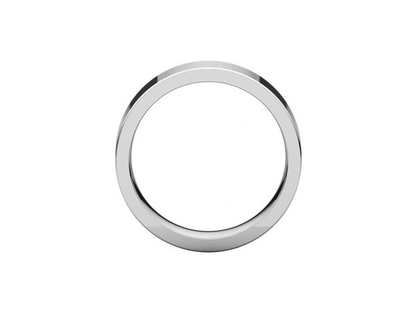 Mens Wedding Bands - 6mm Wedding Band - image #2