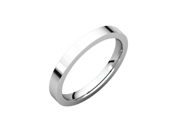Ladies Wedding Bands - 2.5mm Wedding Band