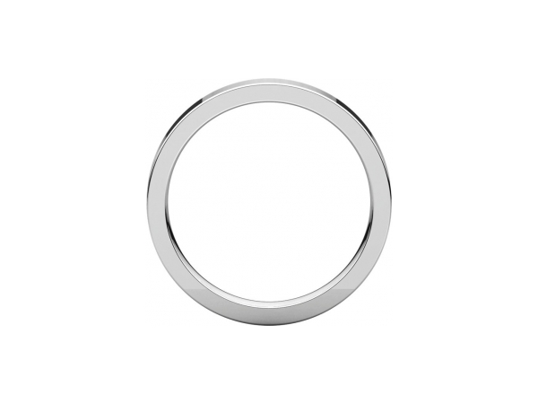 Wedding Rings - 3mm Wedding Band - image #2