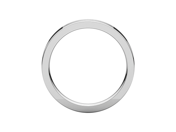 Wedding Bands - 3mm Wedding Band - image 2