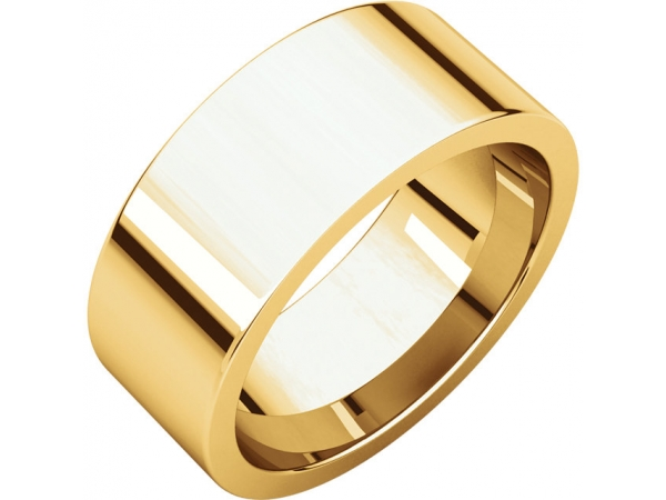 Precious Metal Wedding Bands - 8mm Wedding Band