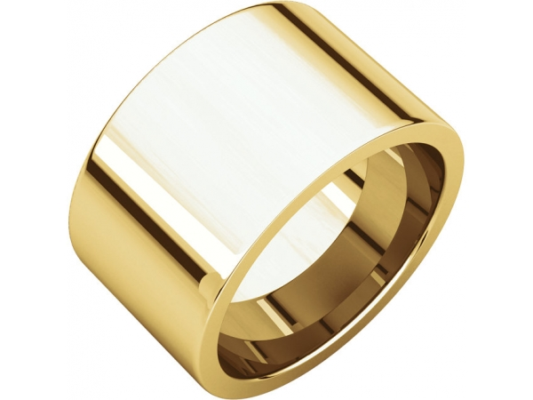 Wedding Bands - 13mm Wedding Band