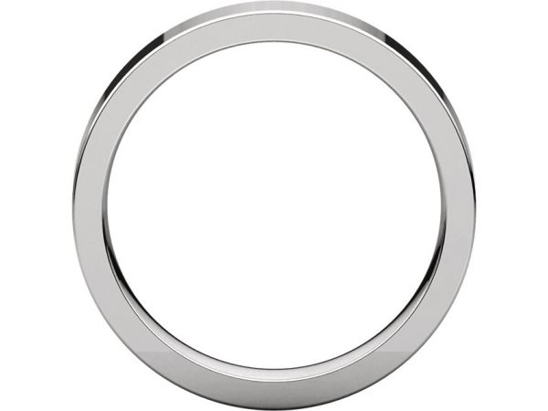Wedding Rings - 4mm Wedding Band - image 2