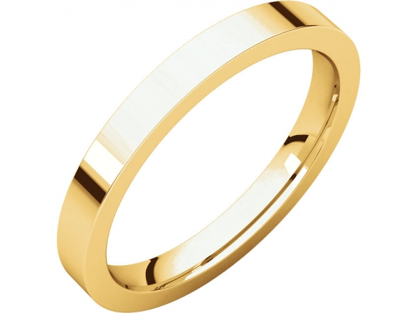 Diamond Fashion Rings - Flat Comfort-Fit Bands