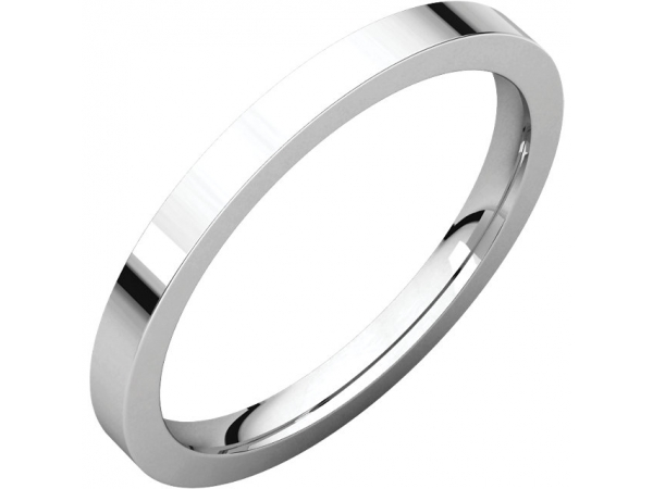 Rings - Flat Comfort-Fit Bands
