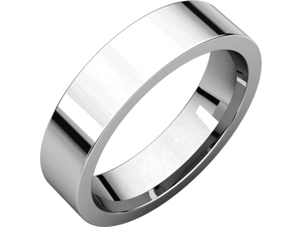 Engagement Rings - Flat Comfort-Fit Bands