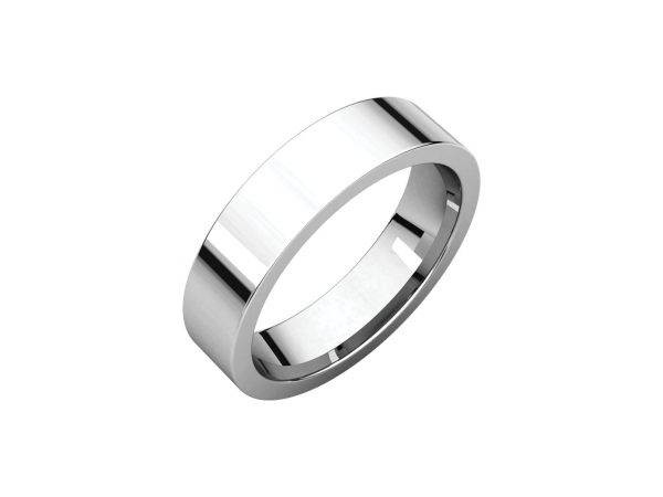 4.5mm Wedding Band - Palladium 4.5mm Comfort Fit Engravable Wedding Band