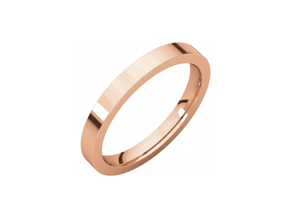 Wedding & Anniversary Bands - 2mm Wedding Band