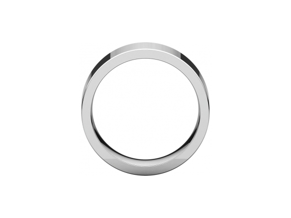 Wedding Rings - 12mm Wedding Band - image 2