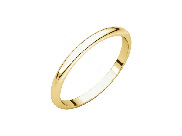 Wedding Rings - 2mm Wedding Band