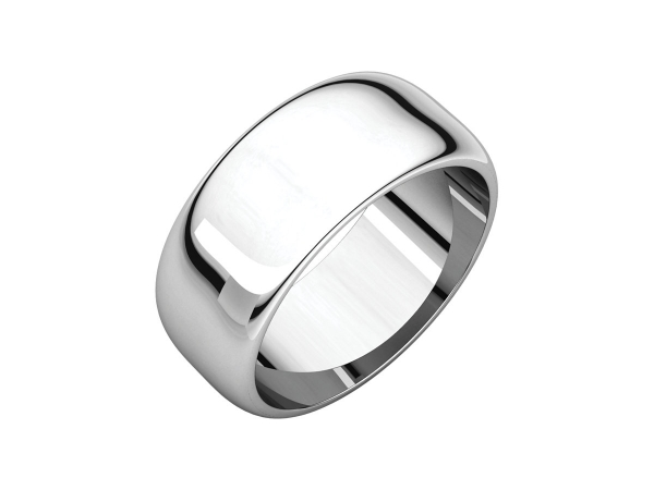 Wedding & Anniversary Bands - 8mm Wedding Band