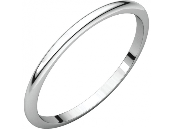 Mens Wedding Bands - 1.5mm Wedding Band