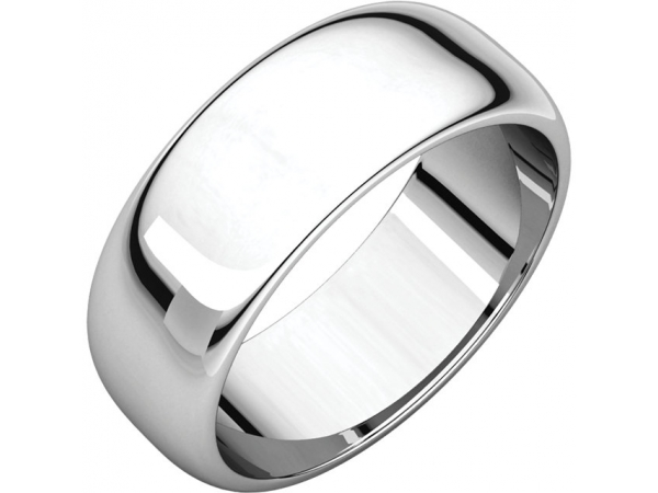 Mens Wedding Bands - 7mm Wedding Band