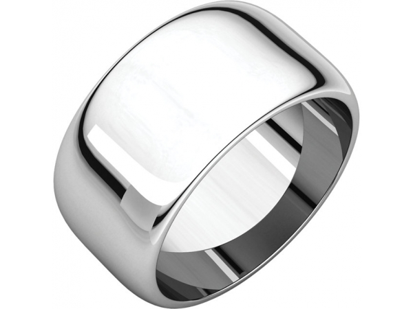 Precious Metal Wedding Bands - 10mm Wedding Band