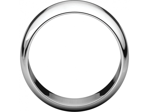 Precious Metal Wedding Bands - 10mm Wedding Band - image #2