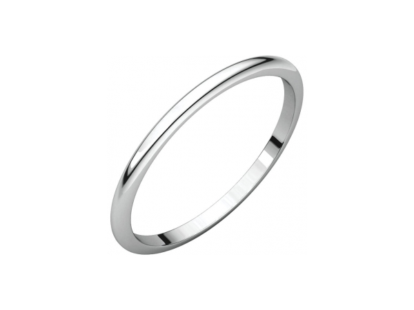 1.5mm Wedding Band - Palladium 1.5mm Wedding Band