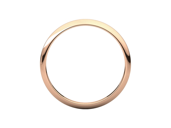Wedding Bands - 1mm Wedding Band - image 2