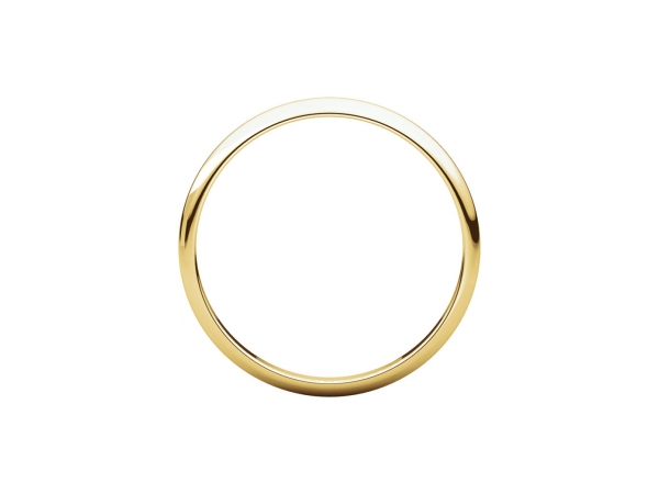 Wedding Bands - 2mm Wedding Band - image 2