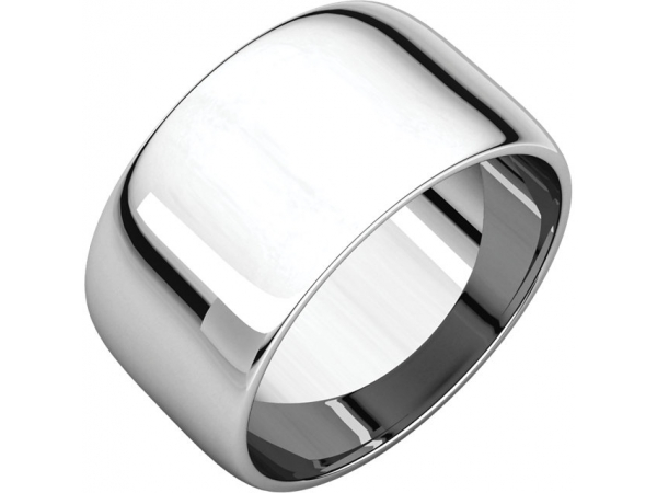 Wedding Bands - Half Round Light Bands