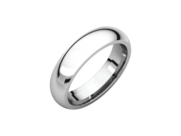 Mens Wedding Bands - 5mm Wedding Band