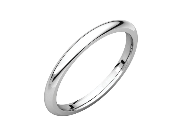 2mm Wedding Band by Stuller